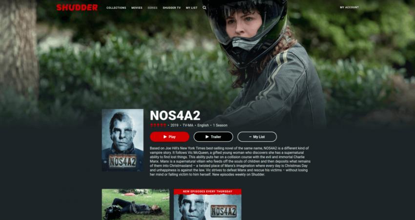 NOS4A2 on Shudder