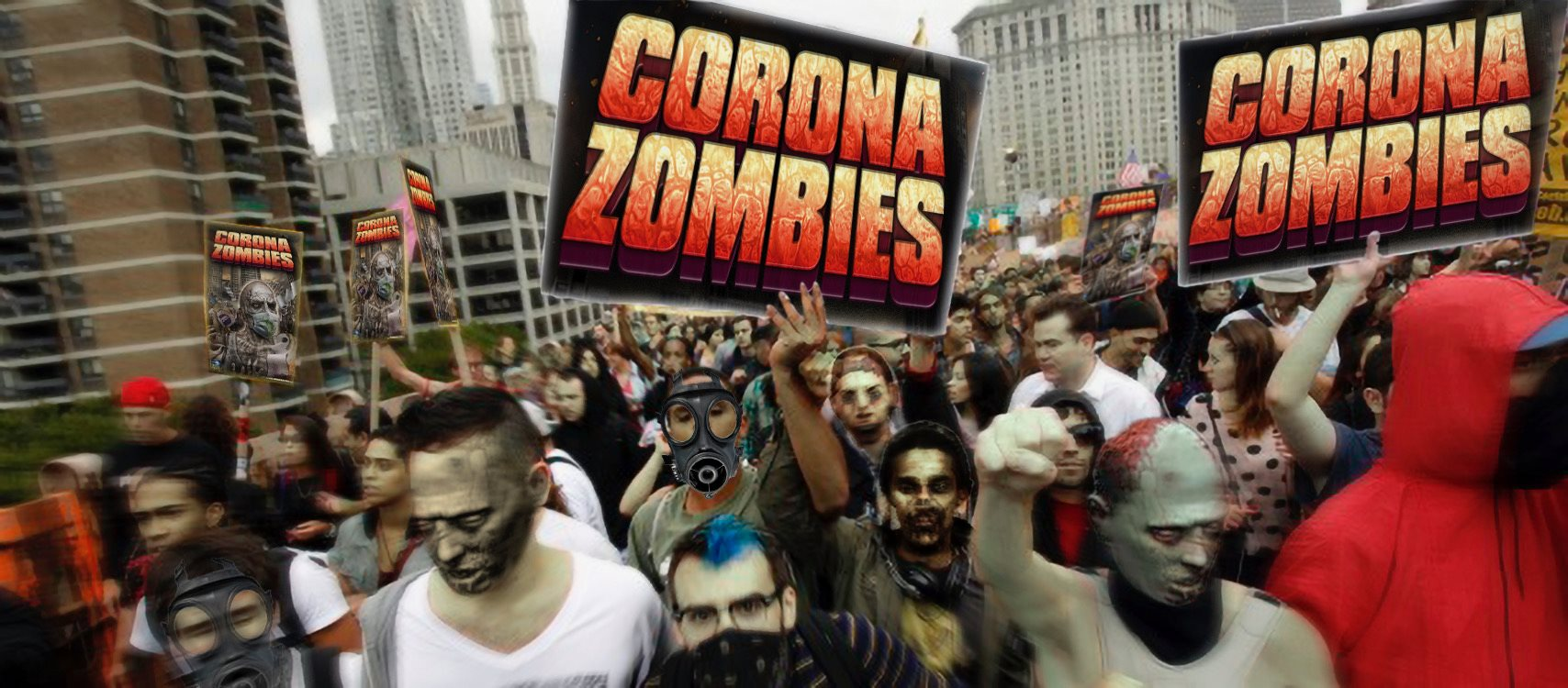 Corona Zombies from Full Moon Features