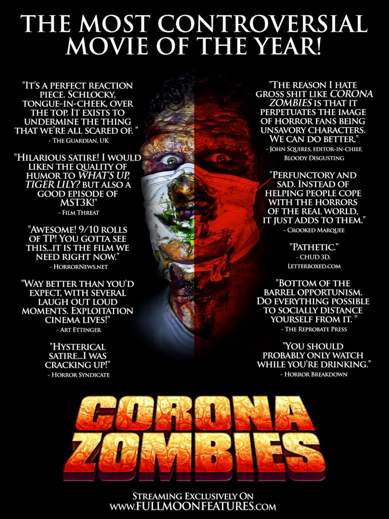 Corona Zombies HorrorBreakdown Quote