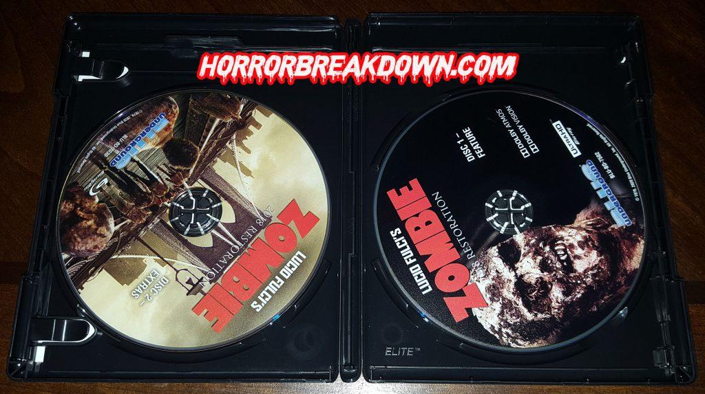 Zombie 4K Discs