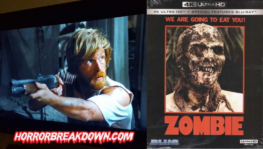 Zombie 4K UHD Blu-ray