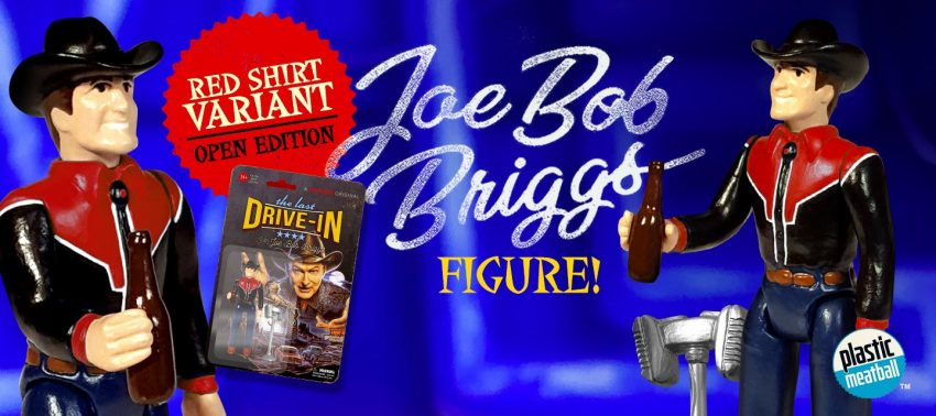 Joe Bob Briggs Red Shirt Variant from Fright Rags