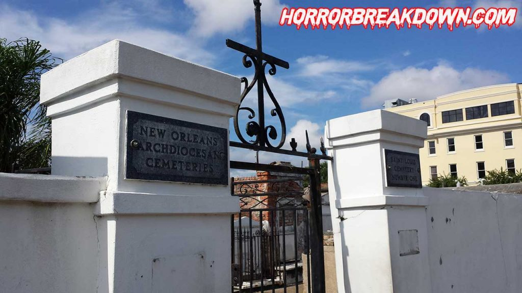 The Beyond - St Louis Cemetery Entrance