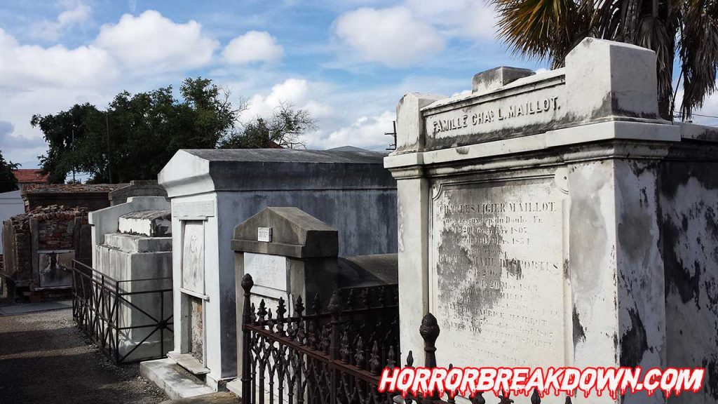 The Beyond - St Louis Cemetery Tombs